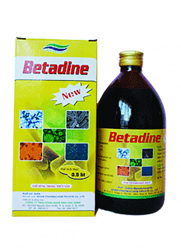 Betadine new (Chai Sành)