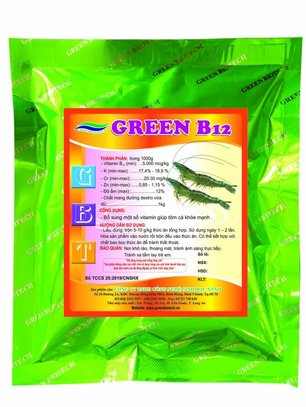 GREEN B12